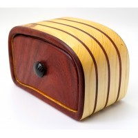 Padauk and Pine Bandsaw Box