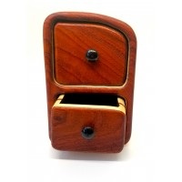 Two drawer Padauk and Pine Bandsaw Box