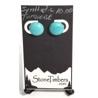 Synthetic Turquoise Earrings
