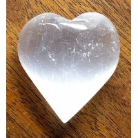 Selenite Pocket Heart sh1379